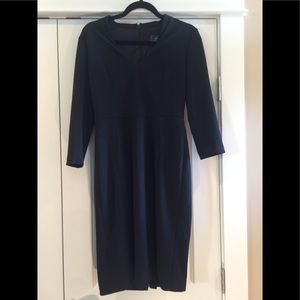 Adrianna Pappell black special occasion dress